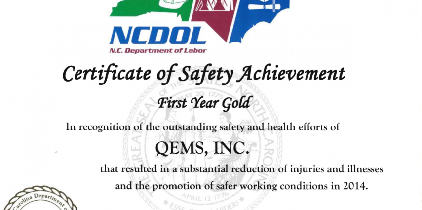 2015 Union County Safety Awards Gallery