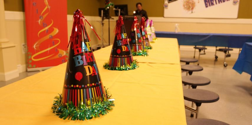 QEMS Hosts 2016 May Birthday Event