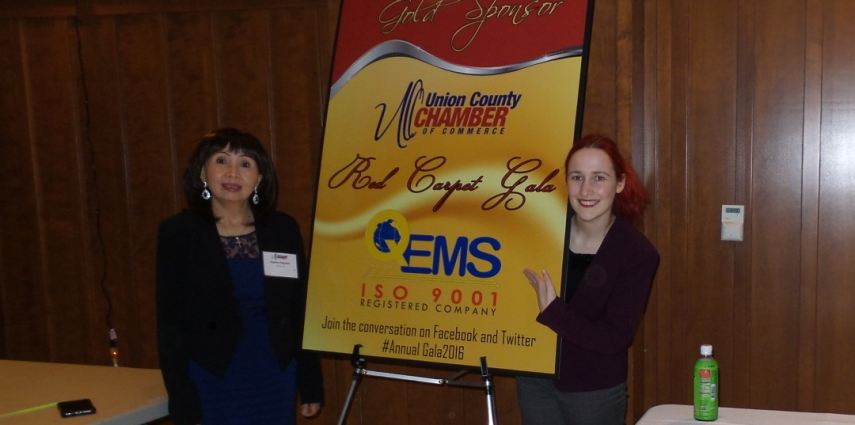 QEMS: Gold Sponsor for Union County COC Red Carpet Gala 2016